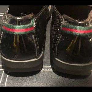 Classic Black Gucci Loafer